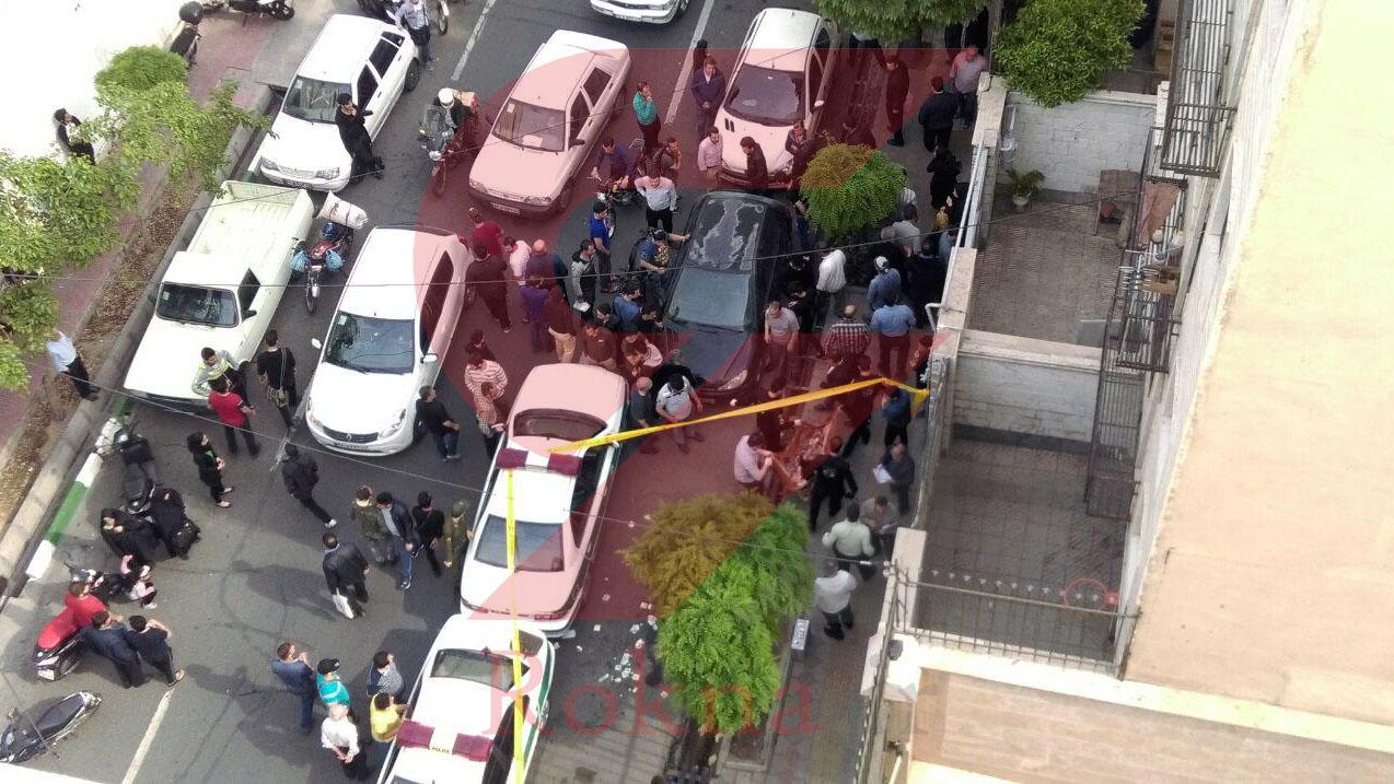 رکنا: قتل در خیابان ششم نیروهوایی