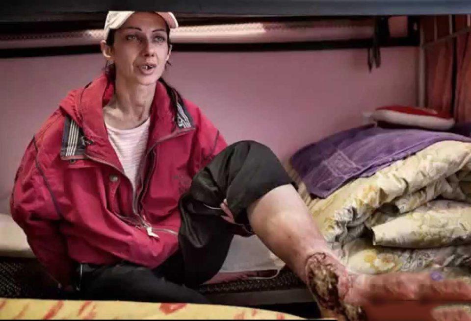 تصاویری وحشتناک از معتادان به ماده مخدر