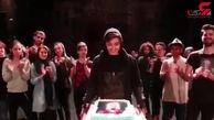 تولد بیست سالگى ریحانه پارسا + فیلم