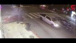 پلیس برای پیدا کردن این راننده جایزه تعیین کرد+ فیلم