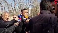 ترک خوردن برج میلاد تایید شد / شهردار تهران اظهار کرد + فیلم