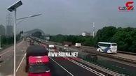فاجعه وحشتناکی که یک راننده رقم زد+ فیلم