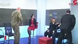 کتک کاری دو نماینده مجلس در برنامه زنده تلویزیونی/ مجری خونسرد فقط تماشا کرد !+ فیلم