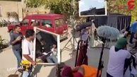 """رونمایی از پشت صحنه """"قصر شیرین"""" با بازی حامد بهداد+فیلم"""