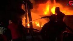 لحظه جان دادن 45 نفر در میان شعله های آتش + فیلم