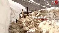 فیلم باورنکردنی از ارتفاع ۸ متری برف در  کهگیلویه و بویراحمد + جزییات