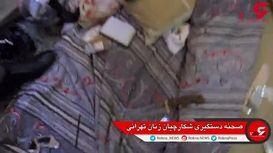 فیلم لحظه بازداشت پسران پلیدی که زنان تهرانی را شکار می کردند + جزییات