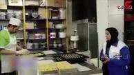 فیلم تکاندهنده از سوسک های حال به هم زن در شیرینی پزی دم عیدی / پرونده در دادسرا + جزییات