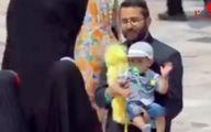 واکنش جالب مردم به اولین دوربین مخفی در حرم امام رضا +فیلم