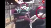 دوربینهای مداربسته دست شیطان مترو را رو کرد + فیلم