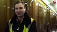 فیلمبرداری از هواپیمای خاص پوتین+فیلم