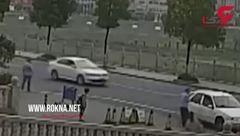 نجات شگفتانگیز پسربچه خوش شانس از یک حادثه + تصویر