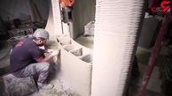 رباتی که یک خانه را 48 ساعته پرینت می کند! + فیلم
