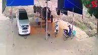 فیلم وحشتناک لحظه قتل عام خانوادگی توسط داماد خانواده+جزییات