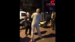 اقدام شنیع یک مرد در خیابان + فیلم