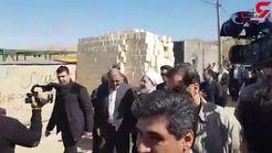 روحانی در روستای زلزله زده فتاح بگ: دولت در کنار شما خواهد بود + فیلم