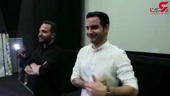 اولین حضور محسن یگانه در اکران های مردمی برای مستند «سریک» بهاره افشاری+تصویر