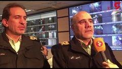 دستگیری 20 نفر در شب چهارشنبه سوری تهران + فیلم توضیحات سردار رحیمی