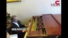 اجرای زیبا شهرداد روحانی با یک پیانوی قدیمی در مسکو + فیلم