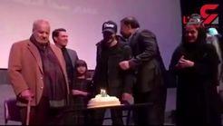 تولد ساعد سهیلی با حضور ناصر ملک مطیعی +فیلم