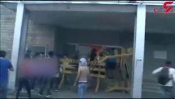 آتش زدن دادگاه عالی انتخابات بولیوی به دست معترضان+ فیلم