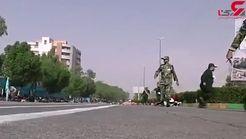 فیلم انتشار نیافته از حادثه تروریستی اهواز / شجاعت را ببینید! + جزییات