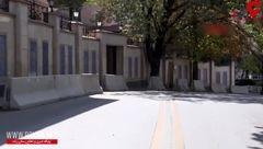 لحظه حضور نیروهای امنیتی ترکیه در روبروی سفارت ایران + فیلم