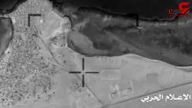 بمباران فرودگاه نجران توسط پهپادهای یمنی + فیلم
