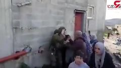 وقتی نظامیان صهیونیست کودکان فلسطینی را میربایند + فیلم