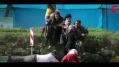 گفتگوی تلخ مادر طاها 4 ساله شهید حادثه تروریستی اهواز + فیلم