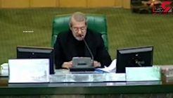 واکنش رئیس مجلس به بازداشت «مرضیه هاشمی» در آمریکا+فیلم