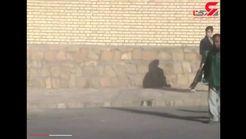 تصادف خونین جرثقیل با هیئت عزاداری در سبزوار +فیلم