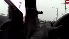 لحظه دستگیری قاتل فراری را ببینید ! + تصویر