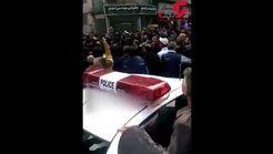 اولین فیلم و عکس از لحظه دستگیری مرد مسلح در رشت توسط نوپو