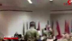 بیاعتنایی سرباز عراقی به ژنرال آمریکایی + فیلم