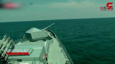 تست موشک ضد کشتی روسیه+فیلم