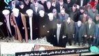 اقامه نماز رهبر معظم انقلاب بر پیکر آیت الله هاشمی رفسنجانی +فیلم و عکس