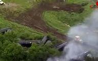 وضع اضطراری در تگزاس به دلیل آتش گرفتن یک قطار + فیلم