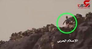 درگیری شدید نیروهای یمنی با مزدوران آل سعود + فیلم