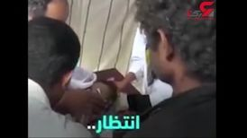 لحظه دردناک از جان دادن کودک یمنی+ فیلم 16+