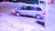 مرد 47 ساله دوست خود را در پمپ بنزین به رگبار بست+فیلم لحظه قتل