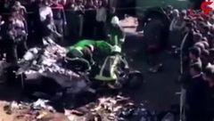 فیلم تصادف مرگبار پراید/ هیچ اثری از راننده پیدا نشد ! + جزییات