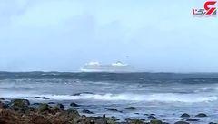تخلیه اضطراری کشتی کروز با هزار و سیصد مسافر + فیلم