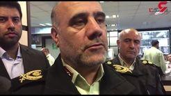 دستگیری 4 اوباش چهارشنبه سوری در تهران + فیلم توضیحات سردار رحیمی