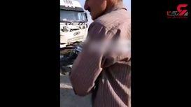 فیلم / کمر پراید در جاده ارومیه - مهاباد شکست