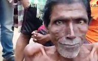 مرد 61 ساله که روی آب شناور می ماند+فیلم