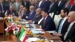 فارسی صحبت کردن نخست وزیر اقلیم کردستان عراق در دیدار با ظریف + فیلم