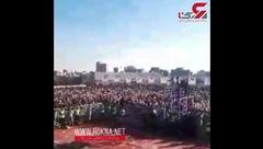 بزرگترین چالش سنی دییلر با حضور رییس جمهور روحانی + فیلم جالب