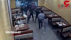 حمله اشتباهی به یک رستوران + فیلم