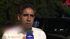 مجروحان و مردم کرمان که وحشت زلزله بامداد امروز گفتند + فیلم